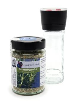 Rosemary Seasoning with Spice Grinder